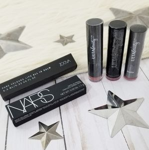 Lipstick bundle Full Ulta Zoeva NARS rose pink NEW